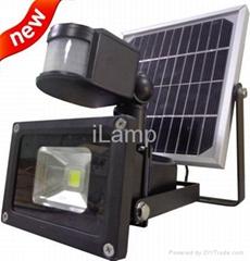 Solar Rechargeable  Floodlight