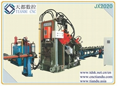 JX2020 Automatic CNC Punching Machine for Angles