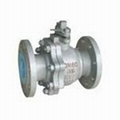 DN200 Cast Steel Flanged Ball Va  e