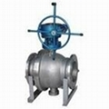 Flanged Trunnion Ball Va  e (Q41F)