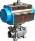 Pneumatic Actuator Extended Stem Full Weld Ball Va  e 1