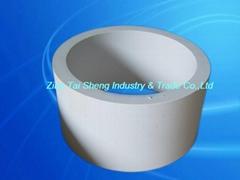 alumina ceramic lined pipe and elbow