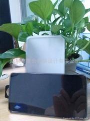 钢化玻璃膜塑胶盒 半透明 不带纸卡