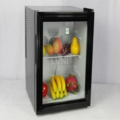 40L thermoelectric cooling module steel door energy drink mini fridge