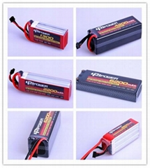 5200mah 11.1V 65C Lipo battery for RC toy factory and wholesale price