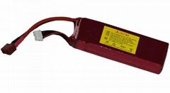 2200mah 11.1V 60C RC Lipo battery for T-REX 450