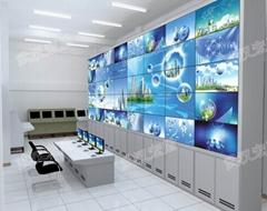 转角电视监控墙