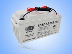 成都太阳能专用蓄电池
