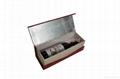 Leather Single Wine Bottle Holder & Wine Tote 3