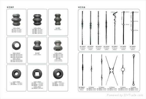 wrought iron components & parts for wrought iron gates 3
