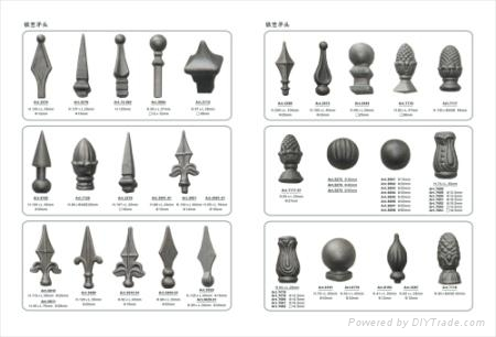 wrought iron components & parts for wrought iron gates 4