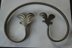 wrought iron scrolls for fence & gates