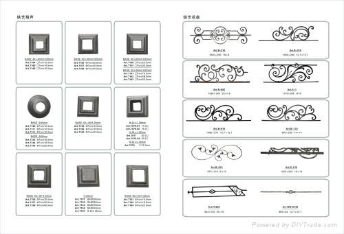 wrought iron Flower Panels 2