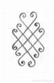 wrought iron Flower Panels 3