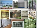 Wrought iron gate &fence design patterns 1