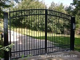 wrought iron fencing&gates  3