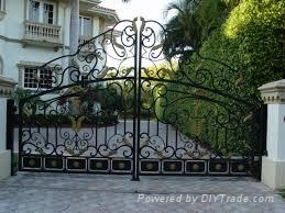 wrought iron fencing&gates  5