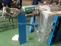 magnesium furnace alloy ingot die casting melting foundry