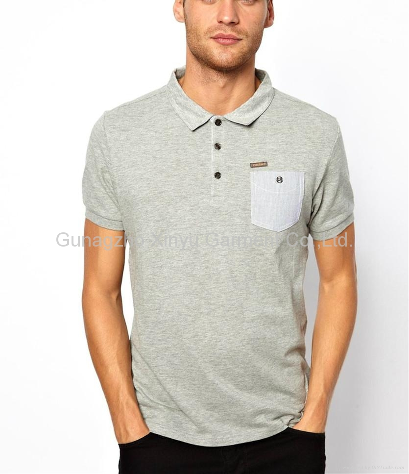 Lands' End Men's Big & Tall Short Sleeve Solid Mesh Polo Shirt With Pocket. Sold by Lands' End. $ Comfort Colors Garment Dyed Heavyweight Ringspun Long Sleeve Pocket T-Shirt-PepperSize -3XL. Sold by FrenchChimp. $