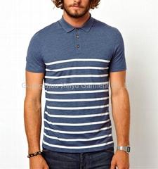 Stripe Polo Mens Fashion Polo tshirt BD140315