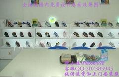 女鞋展櫃出售