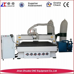 1525 Woodworking CNC Carving Machine With Vacuum Table Dust Collector