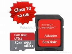 SanDisk Mobile Ultra 32GB SD01 SDHC Card