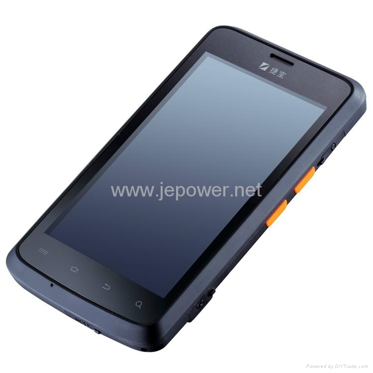 Jepower HT518 R   ed Android Industrial PDA 1