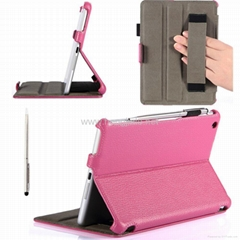 2013 New Arrival smart PU leather case for ipad air