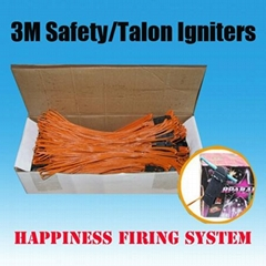 3M Length talon igniters without pyrogen for consumer fireworks