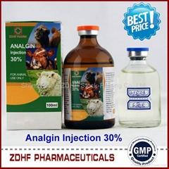 Livestock Medicine Analgin Injection Distributor