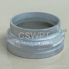 Ductile Iron pipe fittings pipe end cap made in china