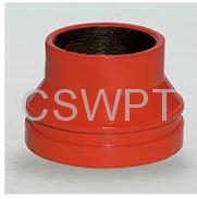 Grooved Concentric Reducer ductile iron pipe fitting galvanized