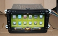 Pure car androd 4.2 OS For VW car dvd player with gps navigation system 2
