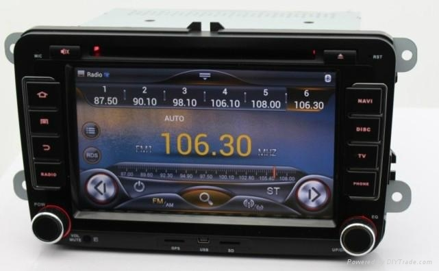 Car android 4.2 os For volkswagen dvd player with gps navigation system 3