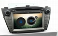 Full android 4.2 OS system For hyundai ix35 car dvd player with gps navigation 2