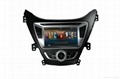Pure android 4.2 system For hyundai elantra car dvd player with gps navigation 2