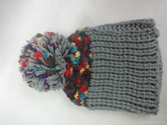 Acrylic Knitted Hats/ Beanie Hat