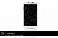 Samsung Galaxy S4 diamond screen protector