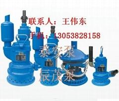 QYW15-120风动排污潜水泵