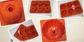 6 cup silicone Cake  Muffin baking mould 2