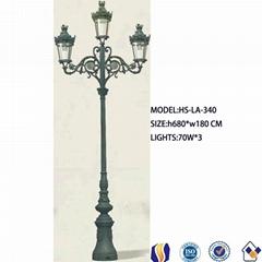 公共街道铸铁灯杆