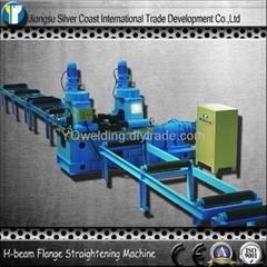 Hydraulic Steel Flange Straightening Machine for H-beam