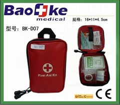 Outdoor Travel First Aid Kits with medical supplies