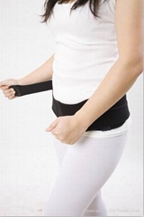 New postpartum pelvic contraction bands