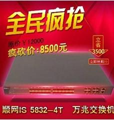網維大師IS5832萬兆交換機
