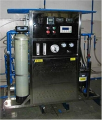 package RO water treatment plant