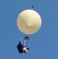 600g weather balloon near space balloon high altitude balloon launch HAB balloon