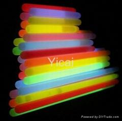 flexible plastic chemical custom glow sticks