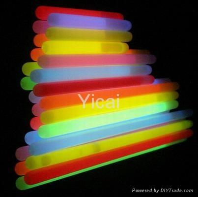 flexible plastic chemical custom glow sticks 1